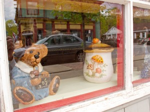 Shop window, Margaretville