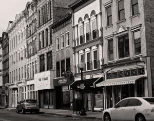 10 - Poughkeepsie in B&W